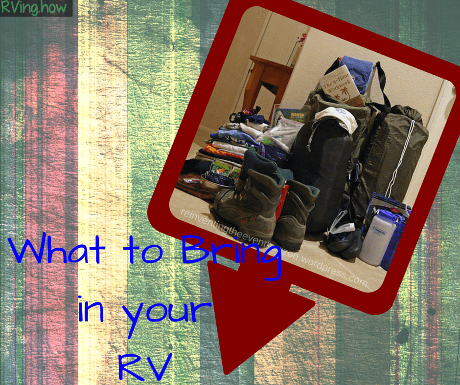 What To Bring In Your Rv I90 Motors Amp Rvi90 Motors Amp Rv